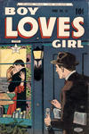 Cover for Boy Loves Girl (Lev Gleason, 1952 series) #47
