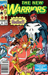 Cover for The New Warriors (Marvel, 1990 series) #9 [Newsstand]
