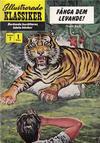 Cover for Illustrerade klassiker (Illustrerade klassiker, 1956 series) #7 [HBN 16] (1:a upplagan) - Fånga dem levande!