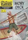 Cover for Illustrerade klassiker (Illustrerade klassiker, 1956 series) #17 [HBN 32] (1:a upplagan) - Moby Dick