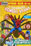 Cover for El Hombre Araña (Editora Cinco, 1974 ? series) #40