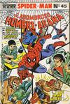 Cover for El Hombre Araña (Editora Cinco, 1974 ? series) #45