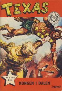 Cover Thumbnail for Texas (Serieforlaget / Se-Bladene / Stabenfeldt, 1953 series) #5/1972