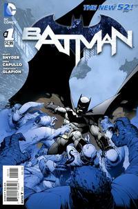 Cover Thumbnail for Batman (DC, 2011 series) #1 [Fifth Printing]