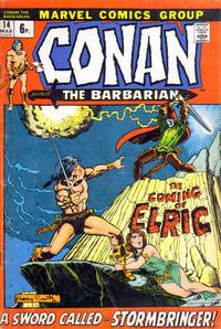 Cover Thumbnail for Conan the Barbarian (Marvel, 1970 series) #14 [British]