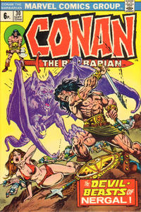 Cover Thumbnail for Conan the Barbarian (Marvel, 1970 series) #30 [British]