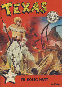 Cover Thumbnail for Texas (Serieforlaget / Se-Bladene / Stabenfeldt, 1953 series) #11/1971
