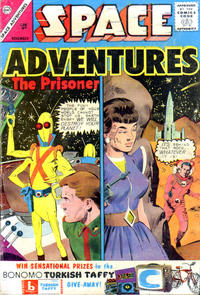Cover Thumbnail for Space Adventures (Charlton, 1958 series) #54 [British]