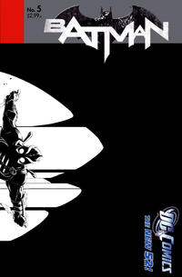 Cover Thumbnail for Batman (DC, 2011 series) #5 [Greg Capullo Black & White Wraparound Cover]