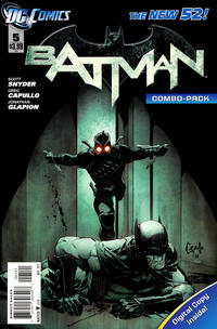 Cover Thumbnail for Batman (DC, 2011 series) #5 [Combo-Pack]