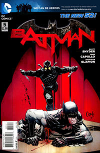 Cover Thumbnail for Batman (DC, 2011 series) #5 [Second Printing]