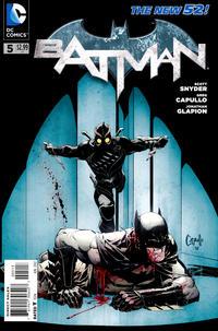 Cover Thumbnail for Batman (DC, 2011 series) #5 [Third Printing]