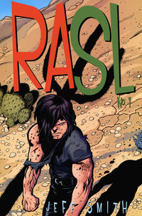 Cover Thumbnail for RASL (Cartoon Books, 2008 series) #1 [Retailer Incentive Variant Cover by Jeff Smith]