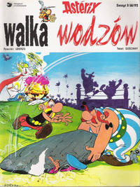 Cover Thumbnail for Asterix (Egmont Polska, 1990 series) #3(6)92 - Walka wodzów