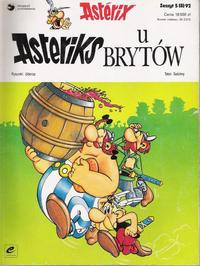 Cover Thumbnail for Asterix (Egmont Polska, 1990 series) #5(8)92 - Asteriks u Brytów