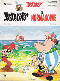 Cover Thumbnail for Asterix (Egmont Polska, 1990 series) #6(9)92 - Asteriks i Normanowie