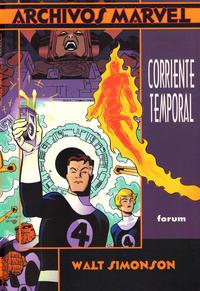 Cover Thumbnail for Archivos Marvel (Planeta DeAgostini, 1997 series) #1 - Los 4 Fantásticos: Corriente Temporal