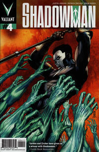 Cover Thumbnail for Shadowman (Valiant Entertainment, 2012 series) #4 [Cover A - Patrick Zircher]