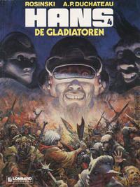 Cover Thumbnail for Hans (Le Lombard, 1983 series) #4 - De gladiatoren