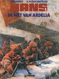 Cover Thumbnail for Hans (Le Lombard, 1983 series) #5 - De wet van Ardelia