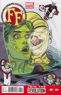 Cover for FF (Marvel, 2013 series) #4