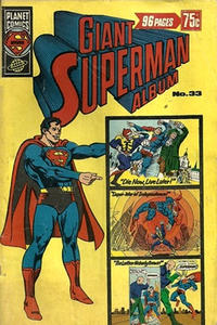 Cover Thumbnail for Giant Superman Album (K. G. Murray, 1963 ? series) #33