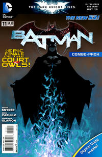 Cover Thumbnail for Batman (DC, 2011 series) #11 [Combo-Pack]