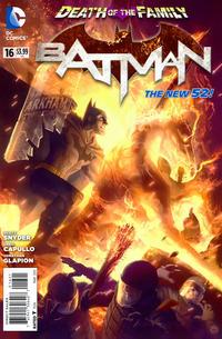 Cover Thumbnail for Batman (DC, 2011 series) #16 [Alex Garner Cover]