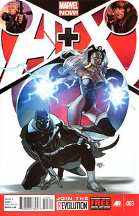 Cover Thumbnail for A+X (Marvel, 2012 series) #3