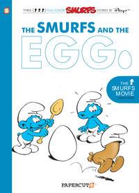 Cover Thumbnail for Smurfs Graphic Novel (NBM, 2010 series) #5 - The Smurfs and the Egg