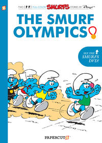 Cover Thumbnail for Smurfs Graphic Novel (NBM, 2010 series) #11 - The Smurf Olympics