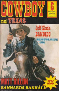 Cover Thumbnail for Cowboy (Semic, 1970 series) #6/1971