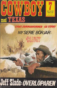Cover Thumbnail for Cowboy (Semic, 1970 series) #7/1971