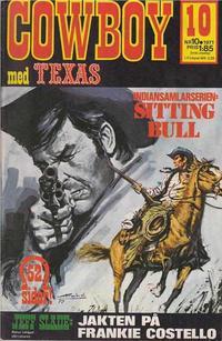 Cover Thumbnail for Cowboy (Semic, 1970 series) #10/1971