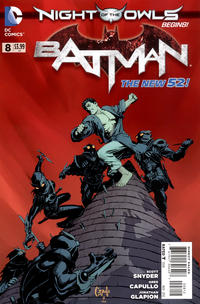 Cover Thumbnail for Batman (DC, 2011 series) #8 [Second Printing]