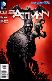 Cover Thumbnail for Batman (DC, 2011 series) #6 [Second Printing]