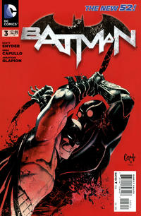 Cover Thumbnail for Batman (DC, 2011 series) #3 [Second Printing]