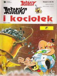 Cover Thumbnail for Asterix (Egmont Polska, 1990 series) #3(12)93 - Asteriks i kociołek