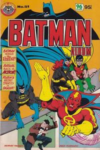 Cover Thumbnail for Batman Album (K. G. Murray, 1976 series) #51