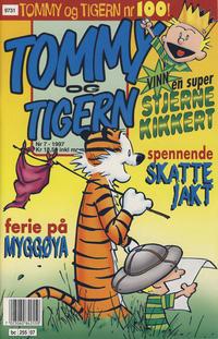 Cover Thumbnail for Tommy og Tigern (Bladkompaniet, 1989 series) #7/1997