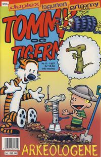 Cover Thumbnail for Tommy og Tigern (Bladkompaniet, 1989 series) #8/1997