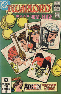 Cover Thumbnail for Warlord (DC, 1976 series) #58 [Direct Edition]