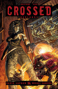 Cover Thumbnail for Crossed Badlands (Avatar Press, 2012 series) #22 [Torture Variant Cover by Raulo Caceres]