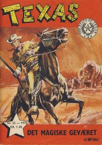 Cover Thumbnail for Texas (Serieforlaget / Se-Bladene / Stabenfeldt, 1953 series) #25/1970