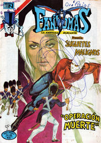 Cover Thumbnail for Fantomas (Editorial Novaro, 1969 series) #444