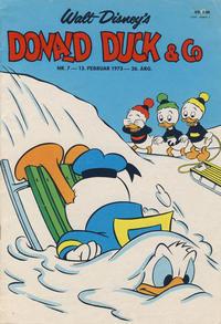 Cover Thumbnail for Donald Duck & Co (Hjemmet / Egmont, 1948 series) #7/1973