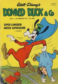 Cover Thumbnail for Donald Duck & Co (Hjemmet / Egmont, 1948 series) #8/1973