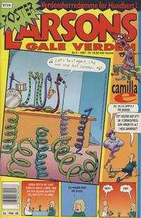 Cover Thumbnail for Larsons gale verden (Bladkompaniet / Schibsted, 1992 series) #6/1997