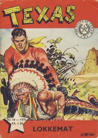 Cover Thumbnail for Texas (Serieforlaget / Se-Bladene / Stabenfeldt, 1953 series) #18/1970