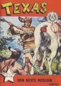 Cover Thumbnail for Texas (Serieforlaget / Se-Bladene / Stabenfeldt, 1953 series) #19/1970